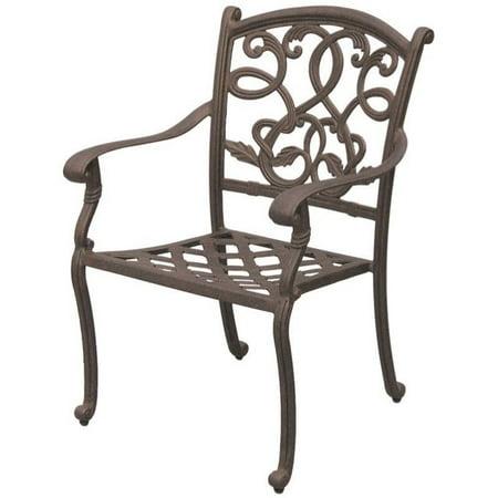 Incredible Darlee Santa Monica Patio Dining Chair In Antique Bronze Set Of 4 Interior Design Ideas Clesiryabchikinfo