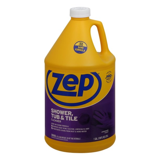 Zep Commercial Shower, Tub And Tile Cleaner, 1 Gal