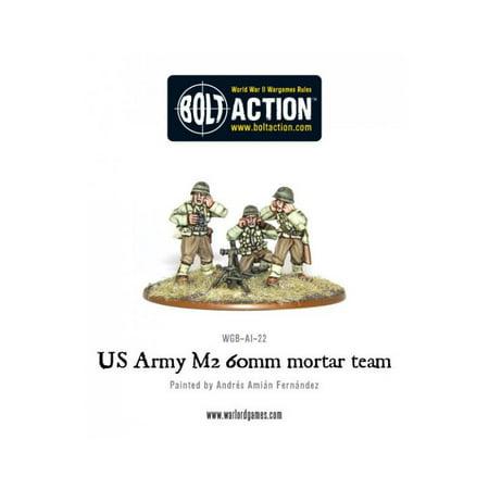 Us Army 60Mm Mortar Team Mint New