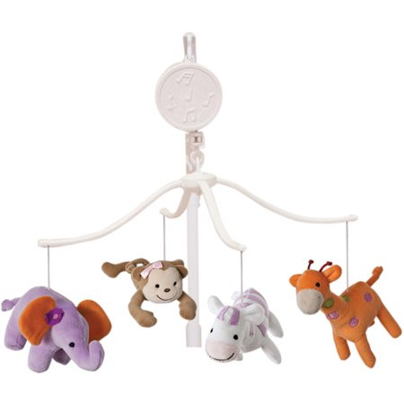 Lambs   Ivy Bedtime Originals Lil Friends Musical Mobile
