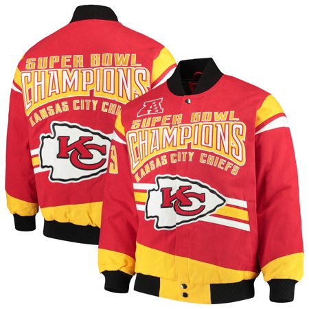 Kansas City Chiefs G-III Extreme Gladiator Commemorative Cotton Twill Jacket - Red