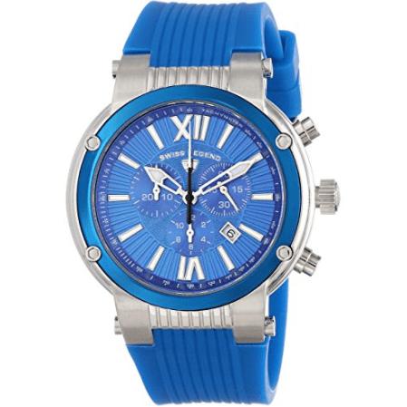 Swiss Legend Men's Legato Cirque Analog Display Swiss Quartz Blue Watch - SL-643-10006-03-BLB