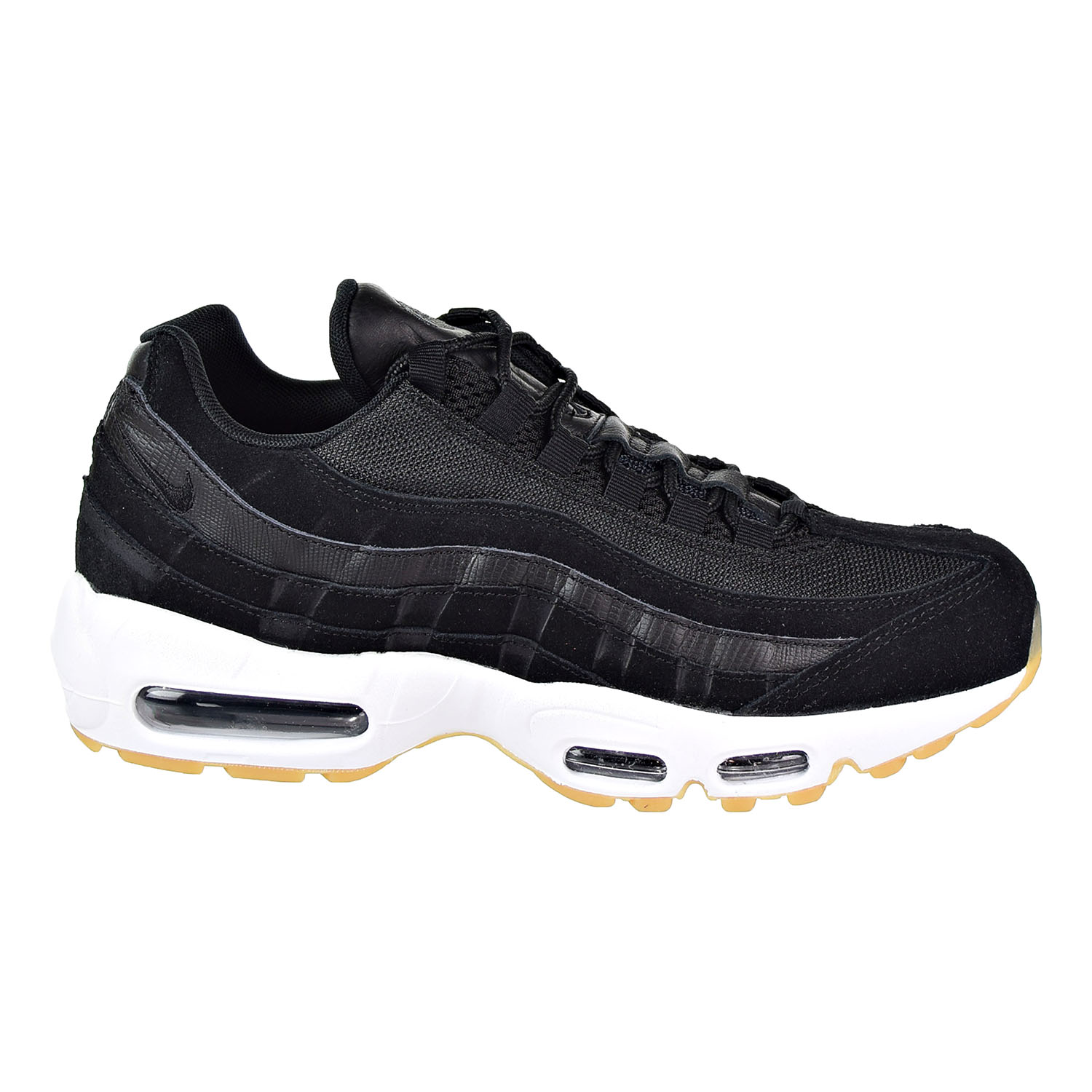 Nike Air Max 95 Premium Men's Shoes Black/Black 538416-016