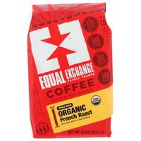 Equal Exchange Whole Bean French Roast Organic Coffee, 10 OZ