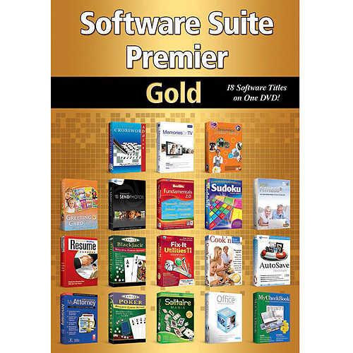 Software Suite Premier Gold (PC)