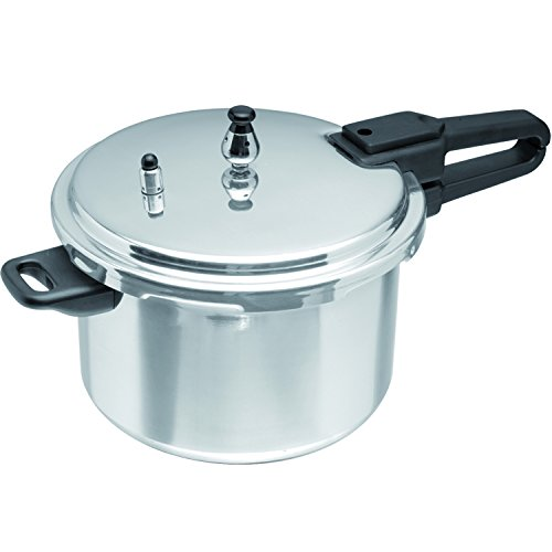 IMUSA Aluminum 7.2 Quart Silver Stovetop Pressure Cooker, 1 Each