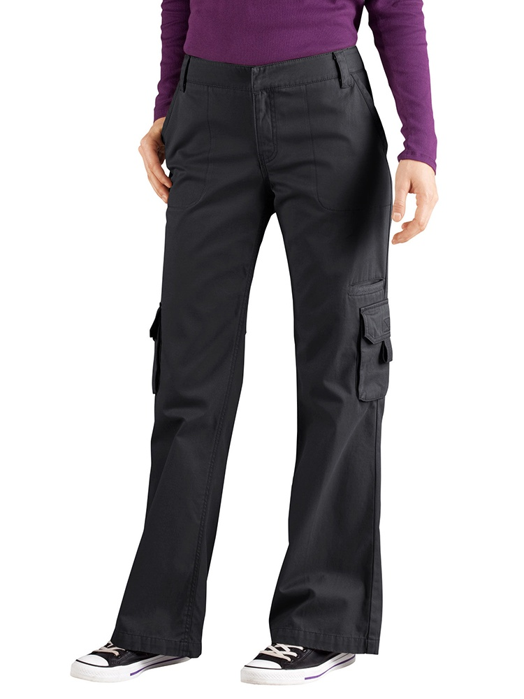 Women's Plus Size Relaxed Cargo Pants