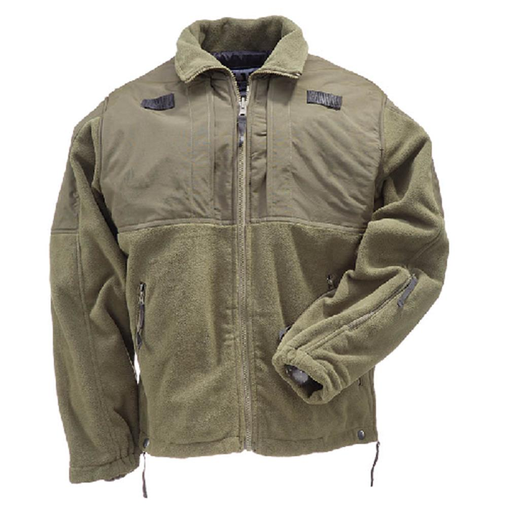 5.11 Tactical Fleece Jacket, Sheriff Green by 5.11 Tactical