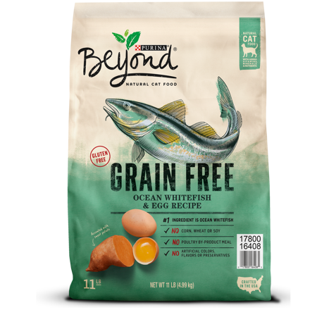 Purina Beyond Grain Free Ocean Whitefish & Egg Recipe Adult Dry Cat Food, 11 lb - Halloween Egg Recipes