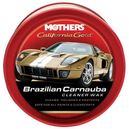 Mothers Cleaner Wax (California Gold Carnauba Cleaner)