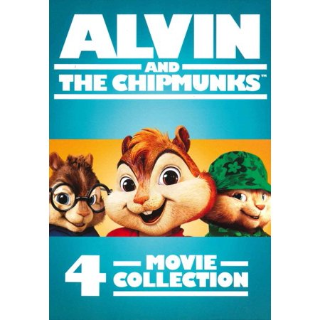 ALVIN AND THE CHIPMUNKS 4 MOVIE COLLE (List Of Halloween Movies For Kids)