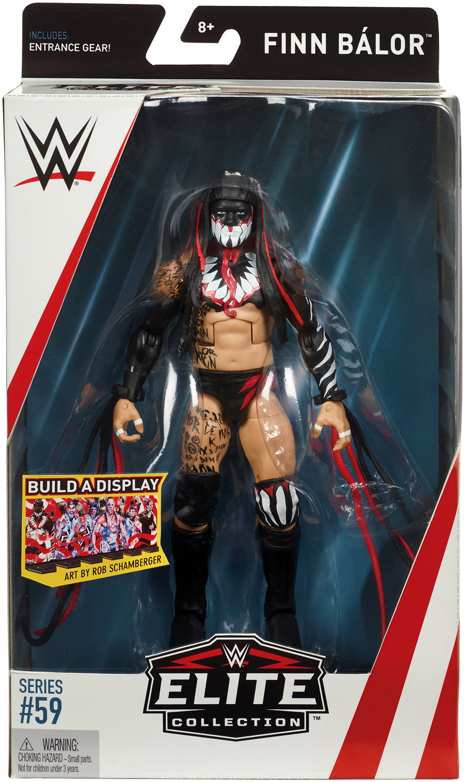 WWE Elite FINN BALOR SERIE 59-Nuovo In Magazzino
