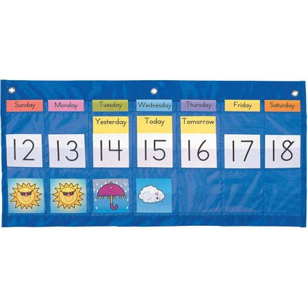 Weekly Wall Calendar - Carson-Dellosa Weather Calendar Chart, 25