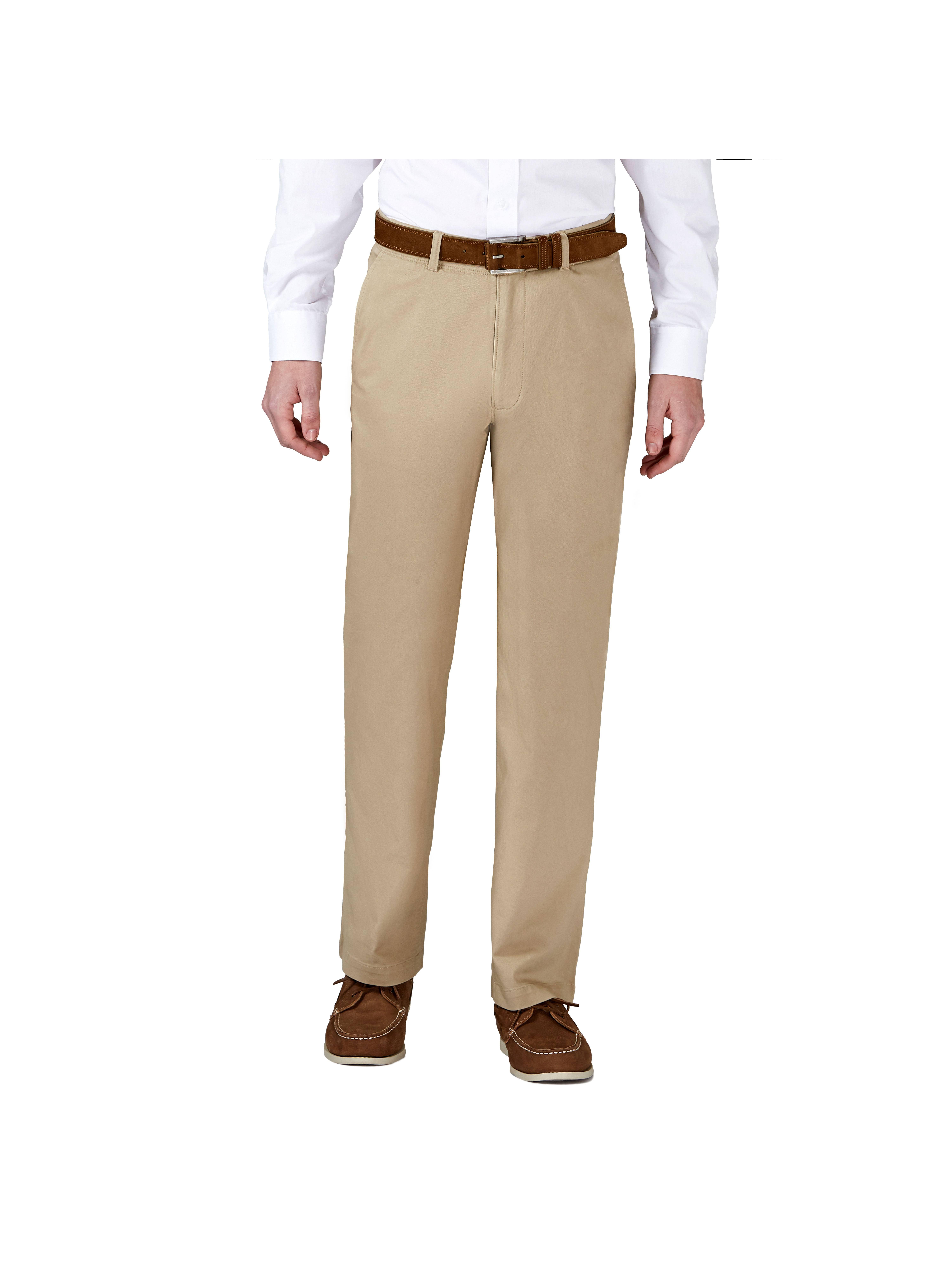 Men's Coastal Comfort Flat Front Chino Pant Classic Fit HC00223