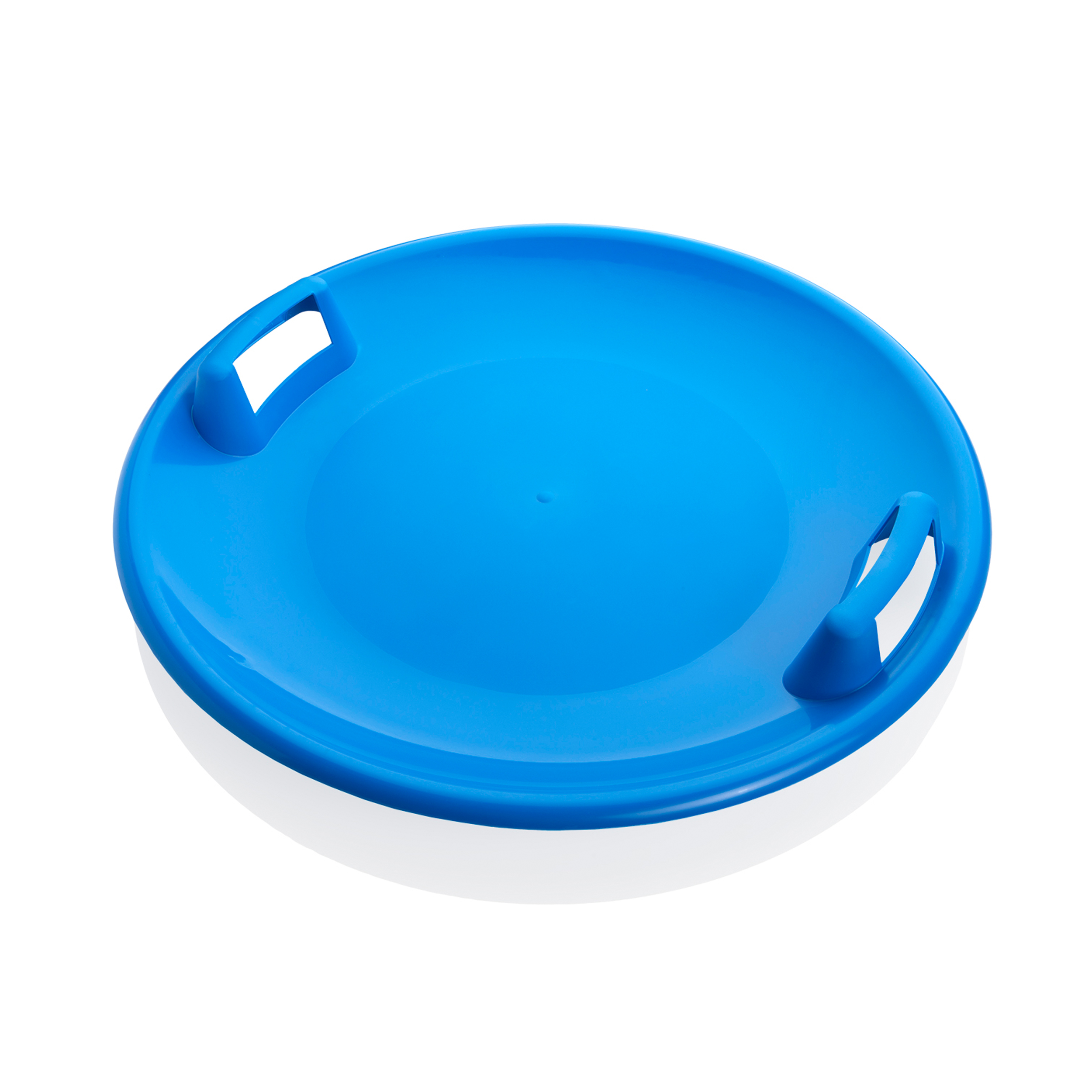 Superstar 24-Inch Saucer Snow Sled for Kids and Adults by Plastkon Blue by Plastkon
