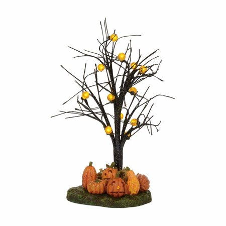 Dept 56 Halloween Village 4057631 Lit Jack-O-Lantern Tree 2017