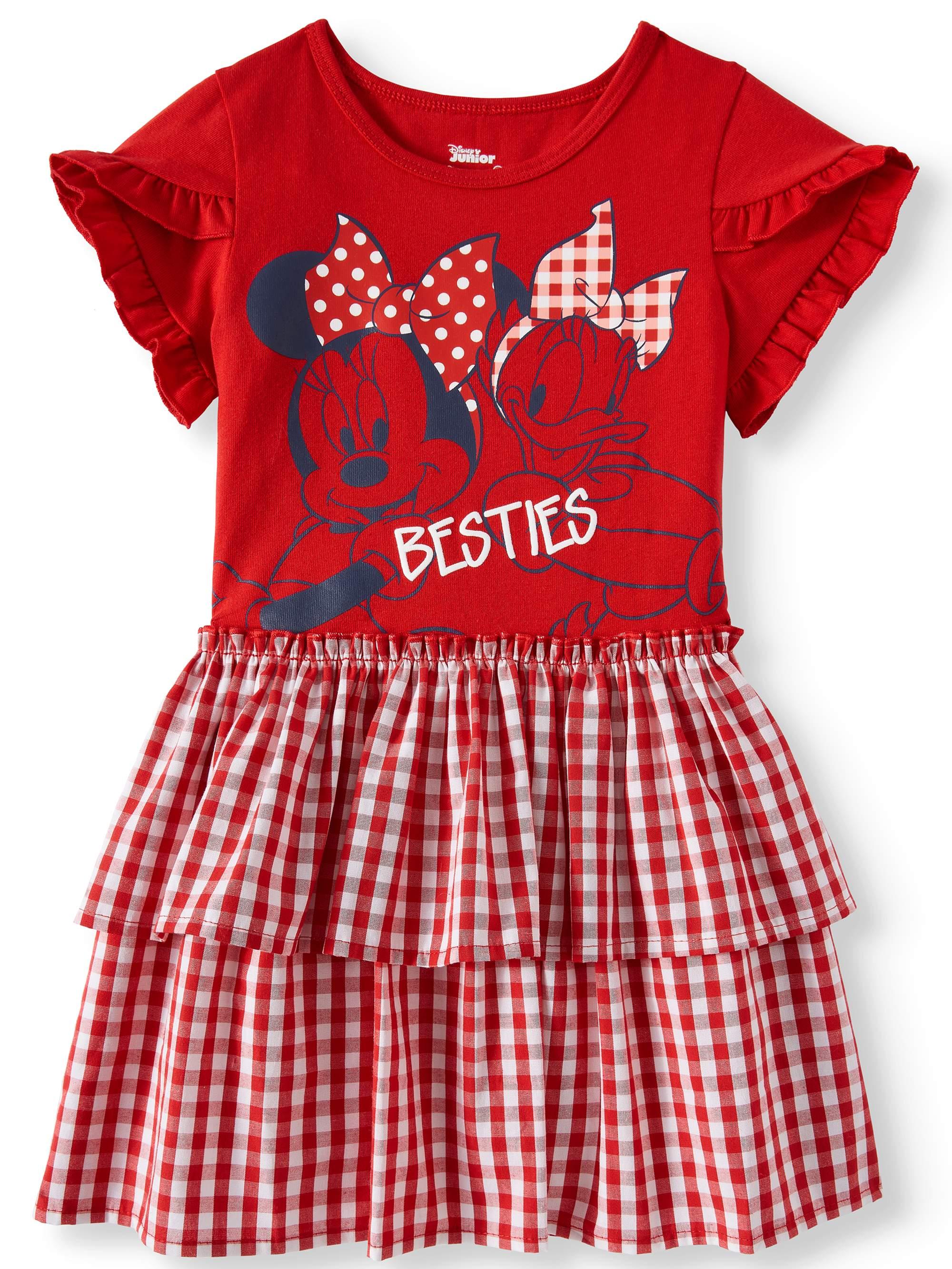 Tiered Skirt Dress (Toddler Girls)