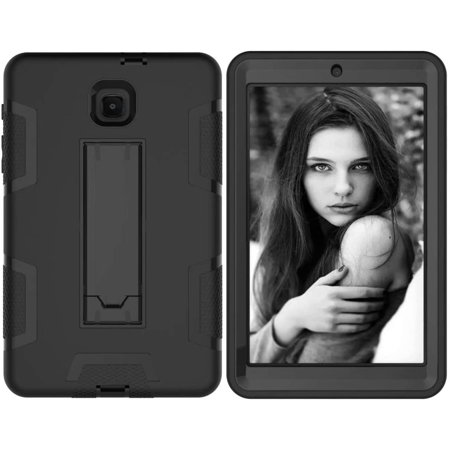 """for Galaxy Tab A 8.0"""" [SM-T387] 2018 Release, Hybrid Heavy Duty Shockproof Impact Resistant Armor Kickstand Defender - image 3 of 5"""