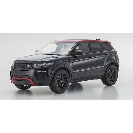Range Rover Evoque Ember Limited Edition Santorini Black 1/18 Diecast Model Car by Kyosho
