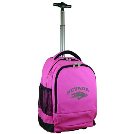 Nevada Wolf Pack 19 Premium Wheeled Backpack - Pink