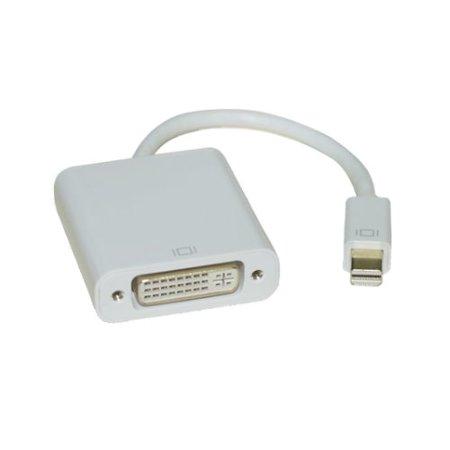 Kentek Mini Display Port male to DVI digital DVI-D female M/F video adapter converter cord Thunderbolt 1080p for PC MAC mini DP MDP (Thunderbolt To Dvi 2 Dvi Output Converter)