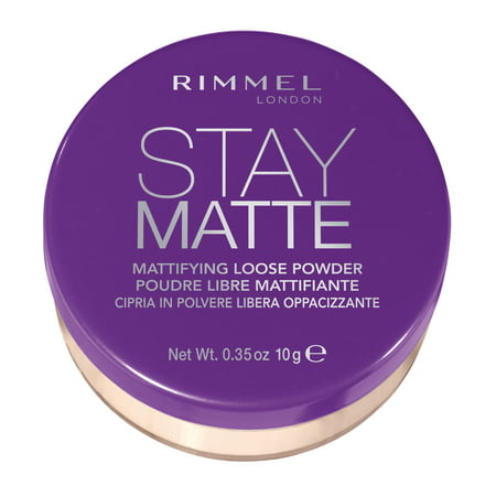 Rimmel Stay Matte Loose Powder in 001 - Silky Soft Loose Powder