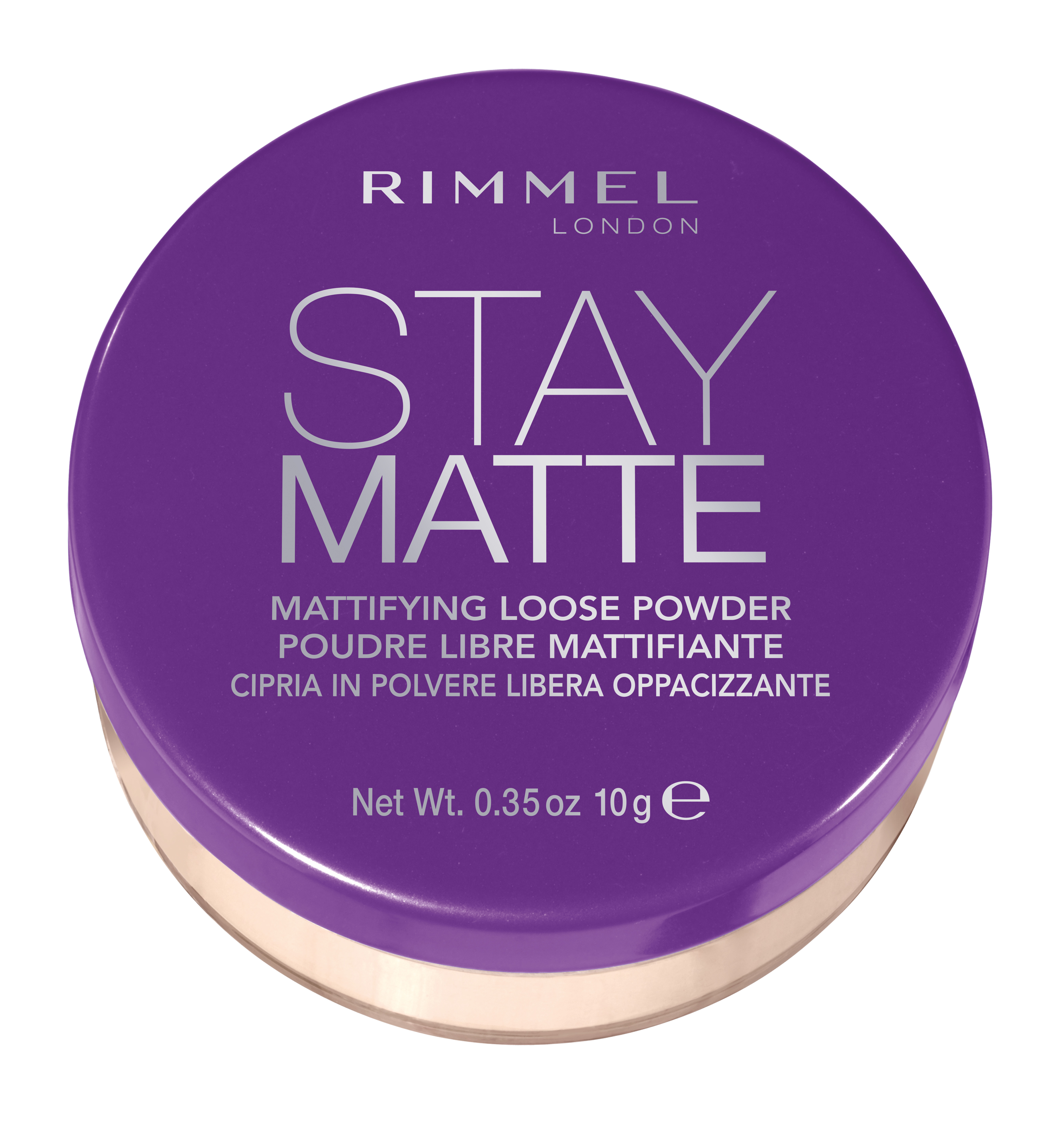 Rimmel Stay Matte Loose Powder in 001 Transparent