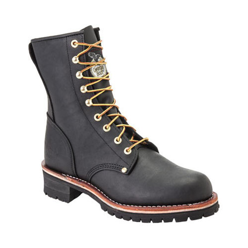 """Men's Georgia Boot G83 8"""" Safety Toe Logger by Georgia Boot"""