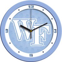 Wake Forest Baby Blue Wall Clock