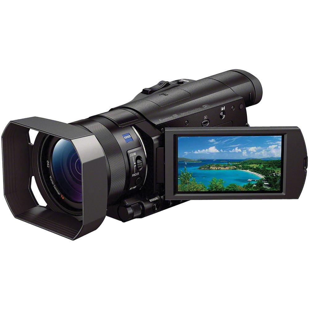 Sony Handycam FDR-AX100 Wi-Fi 4K HD Video Camera Camcorder by Sony