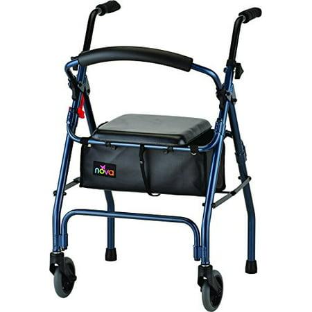 Nova Medical Products Cruiser Ii Walker  Blue