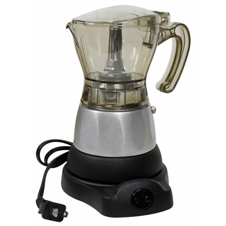 BC Cordless electric espresso coffee maker.Adjustable 3 to 6 Cups (Electric Express)