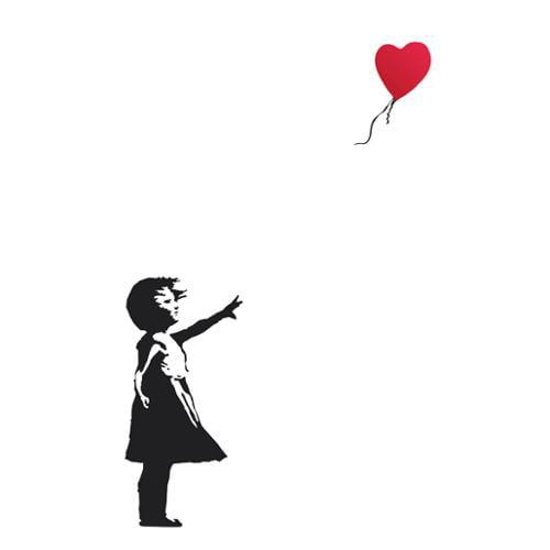 Balloon Girl - Banksy Poster Print (24 x 36)
