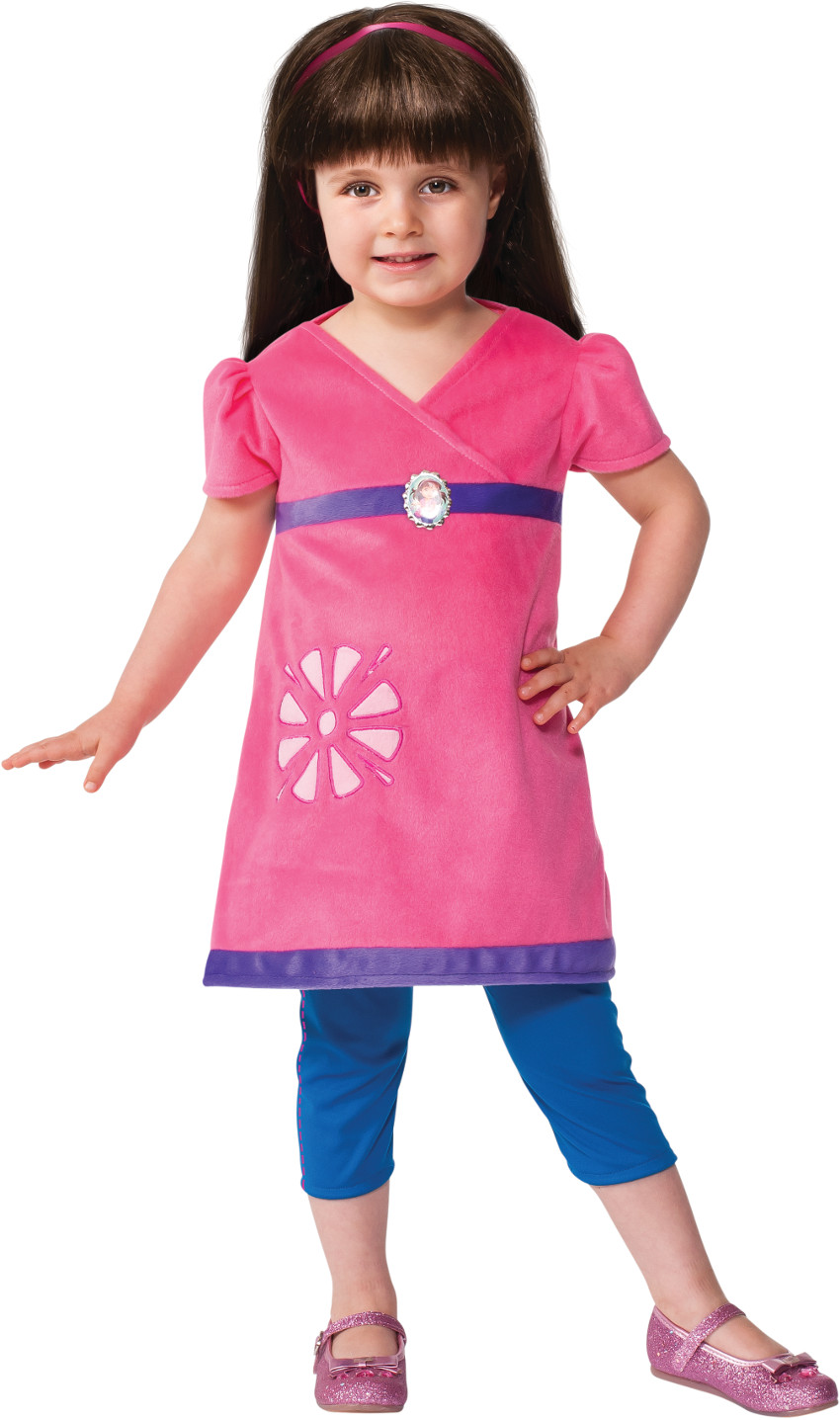 Toddler's Nickelodeon Cartoon Dora The Explorer And Friends Costume 2T-4T by Rubies Costume Co