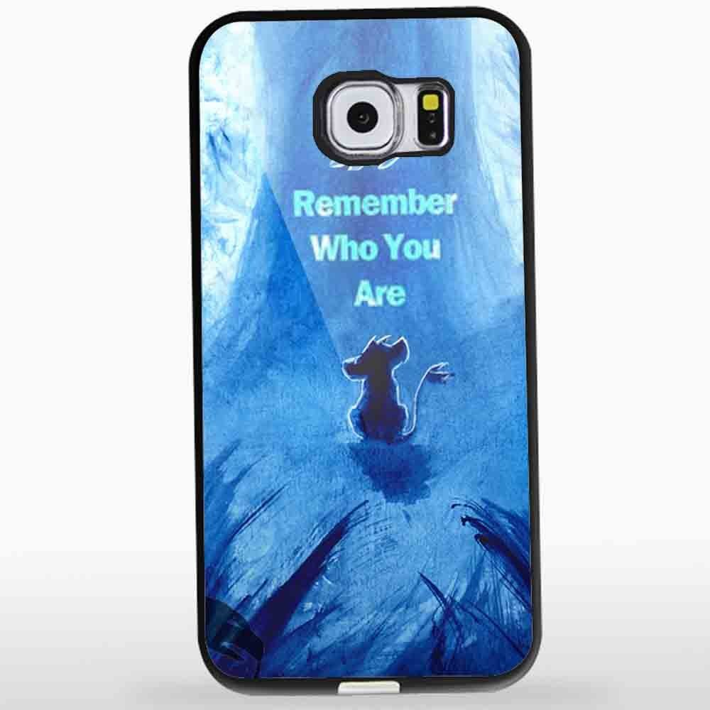 Ganma The Lion King Movie Remember Who You Are Simba Case For iPhone Case (Case For iPhone 6s White)