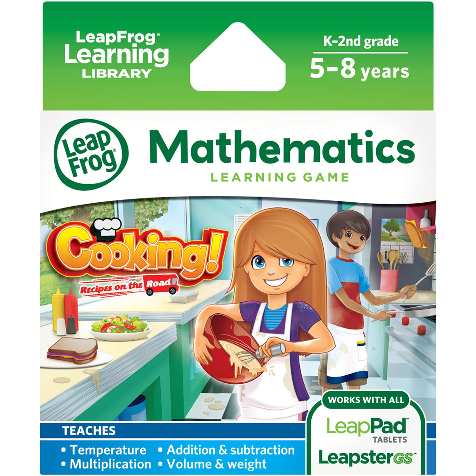 LeapFrog Explorer Learning Game, Cooking! Recipes on the Road