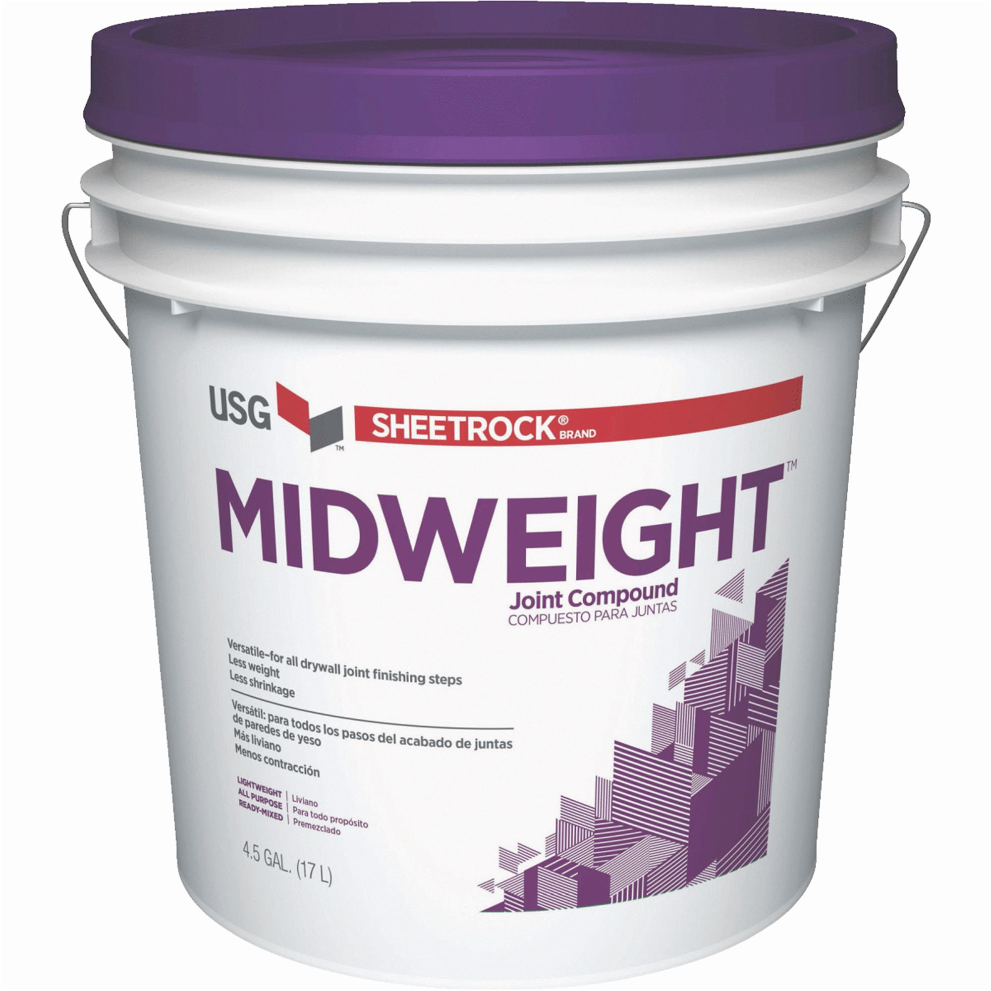 Sheetrock Midweight Pre-Mixed All-Purpose Drywall Joint Compound