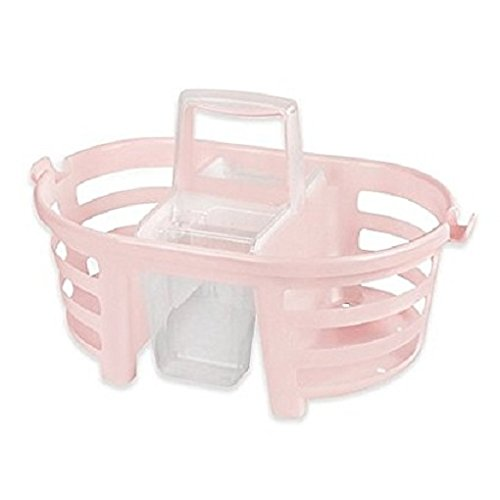 Shower Caddy 2-in-1-MultiColor (Pink), Perfect for any college student or apartment... by