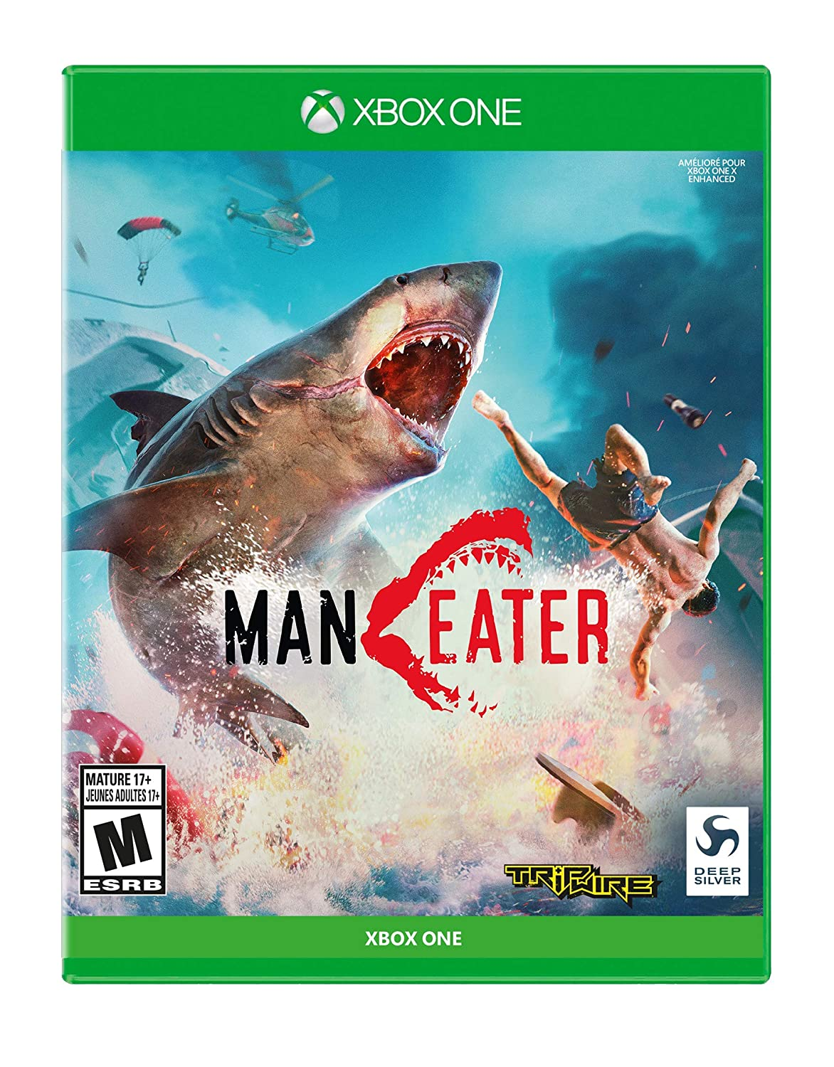 Man Eater, Deep Silver, Xbox One, 816819017517