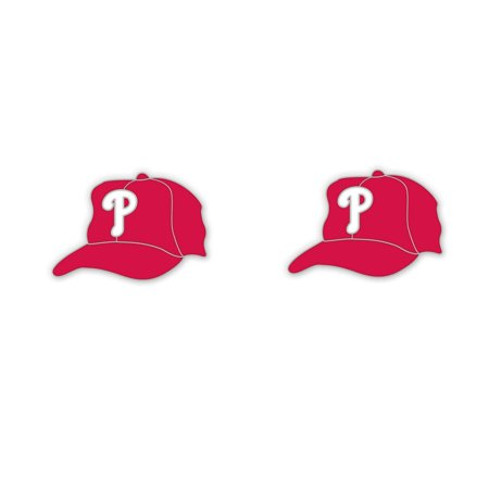 Philadelphia Phillies Official Mlb  5 Inch  Earrings By Wincraft