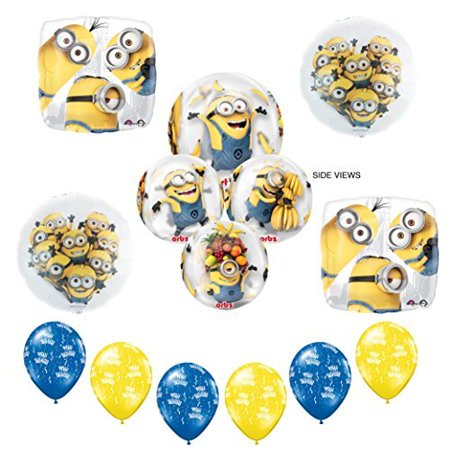 New! Despicable Me Minions ORBZ Birthday Party Supplies balloon Decoration kit - Party City Nearest Me