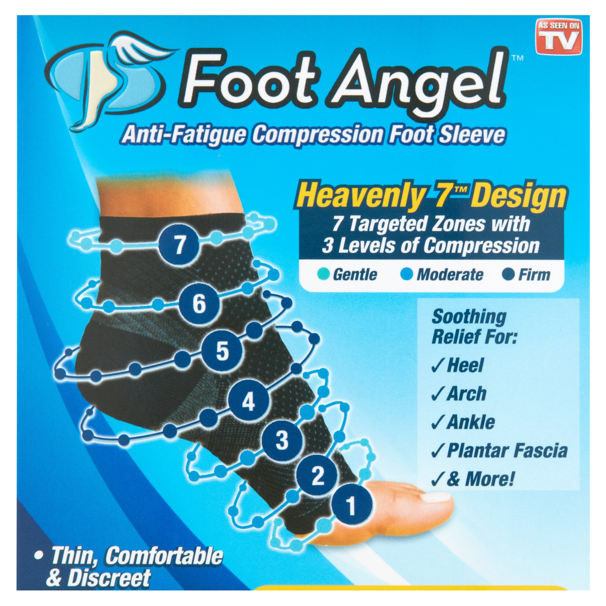As Seen On TV Foot Angel SM Walmartcom - Lego creates anti lego slippers with extra padding to end a pain parents know too well