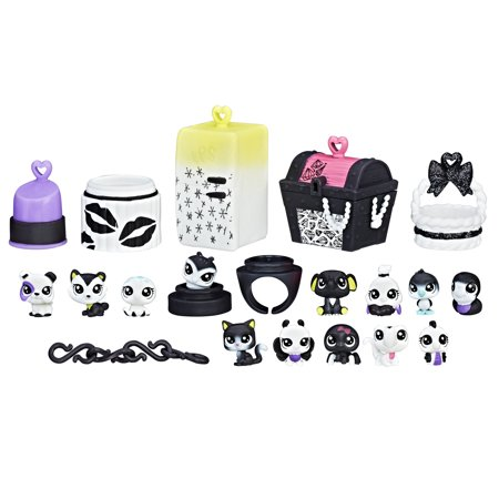 Littlest Pet Shop Black & White Pet - Littlest Pet Shop Cupcake Rings