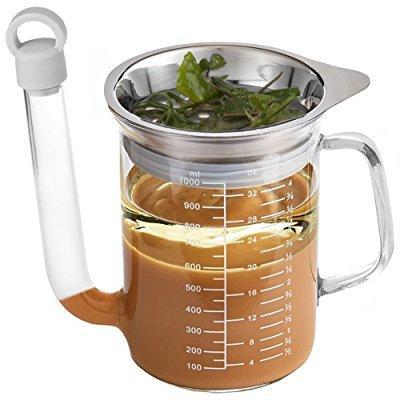 blmwares gravy separator   fat separator   tempered glass...