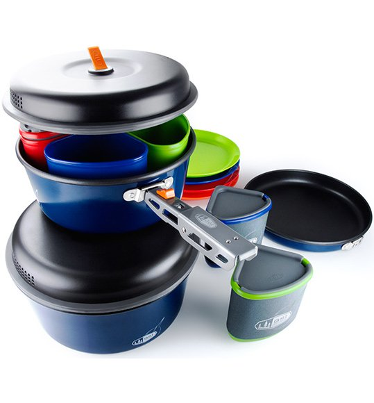 GSI Outdoors Bugaboo Camper 4-Person Cookset by Enamelware