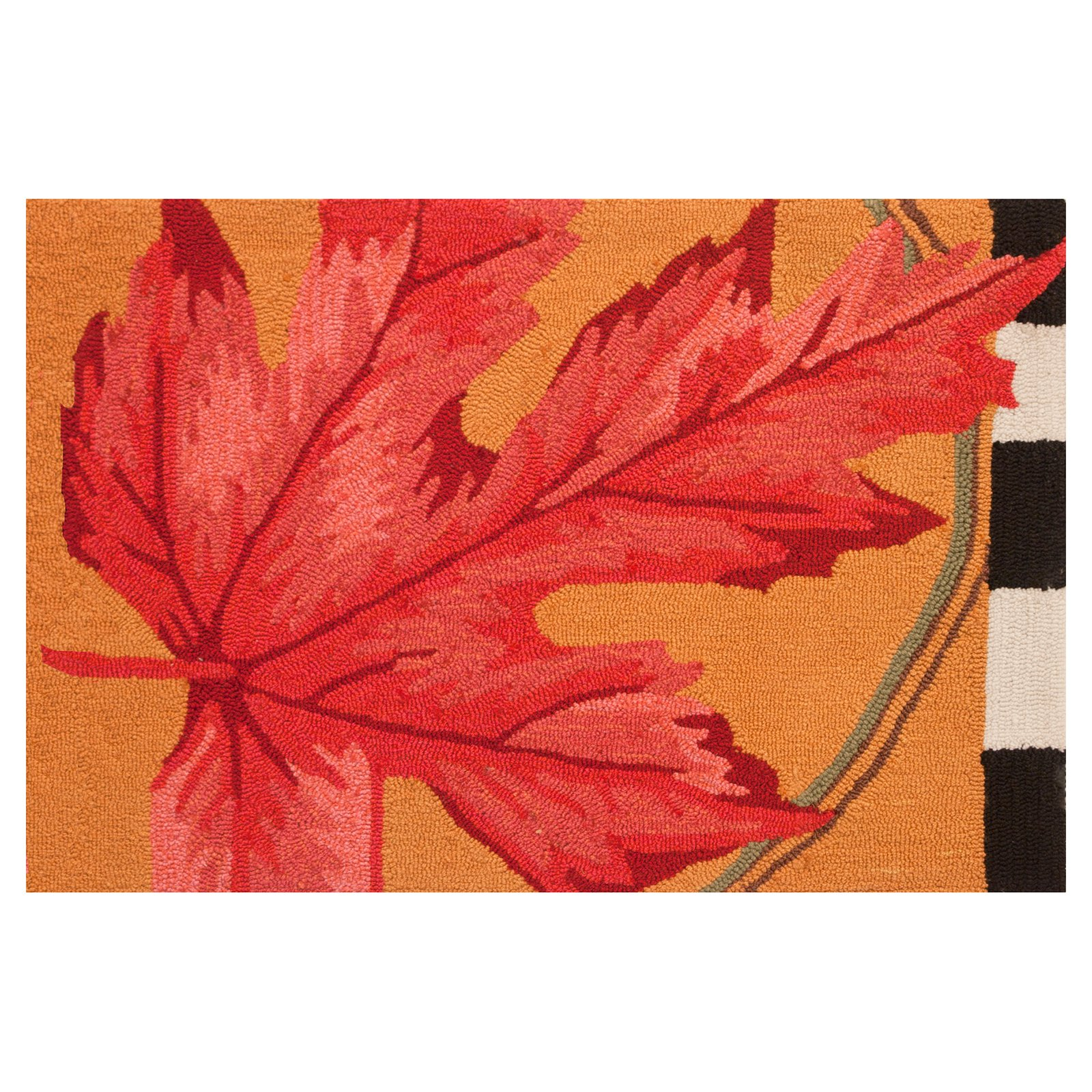 Homefires Autumn Leaf Indoor Doormat