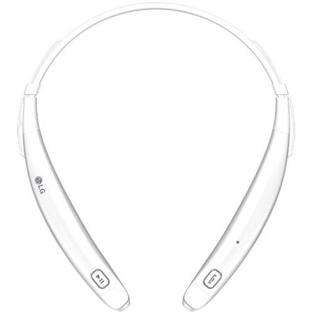 LG Tone Pro 770 Bluetooth Wireless Stereo Headset, White