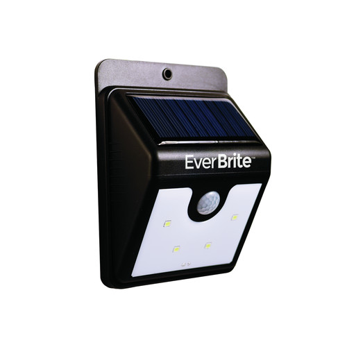 As Seen On TV Ever Brite Light Solar Powered Outdoor LED Motion Sensor Path & Security Light