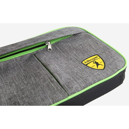 ccabc5534cd Killerspin Optima, SReinforced Padded Polyester, Table Tennis Paddle  Carrying Case, Gray - Walmart.com