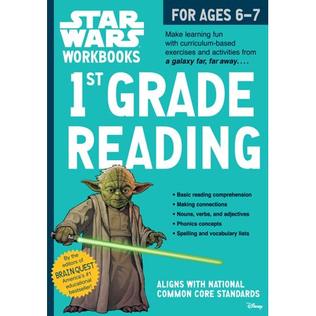 Star Wars Workbook: 1st Grade Reading](Halloween Book For First Grade)